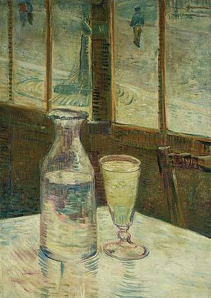 Still Life with Absinthe by Vincent van Gogh